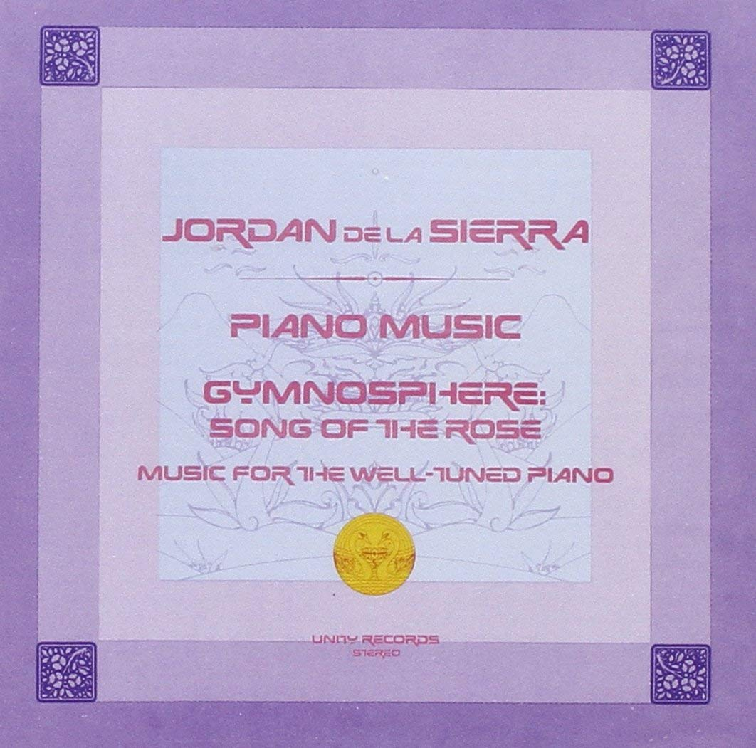 Jordan De La Sierra | Gymnosphere album cover