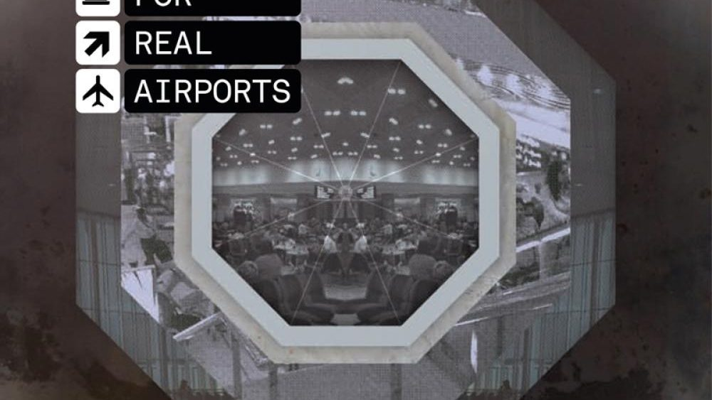 The Black Dog | Music For Real Airports album cover