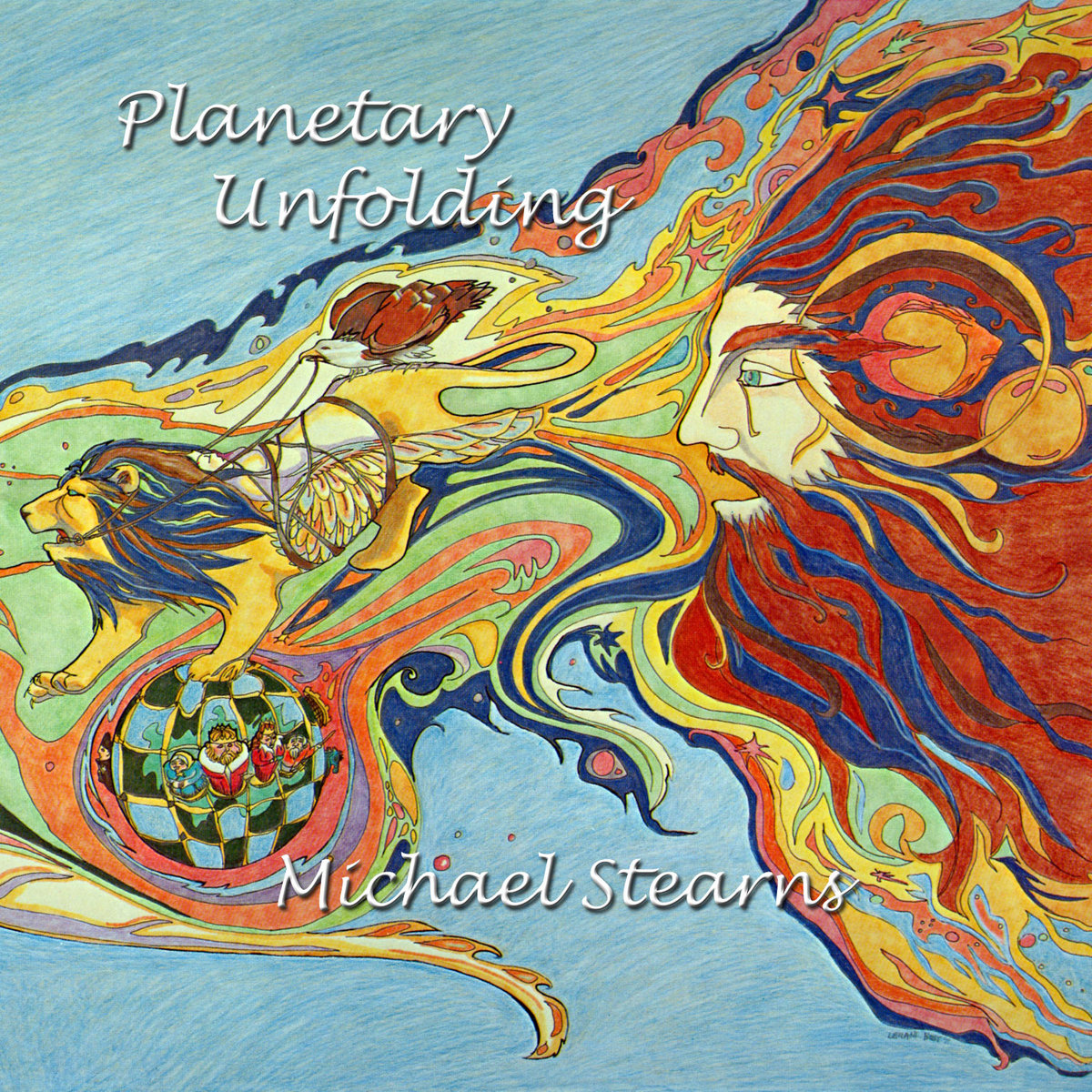 Michael Stearns | Planetary Unfolding album cover