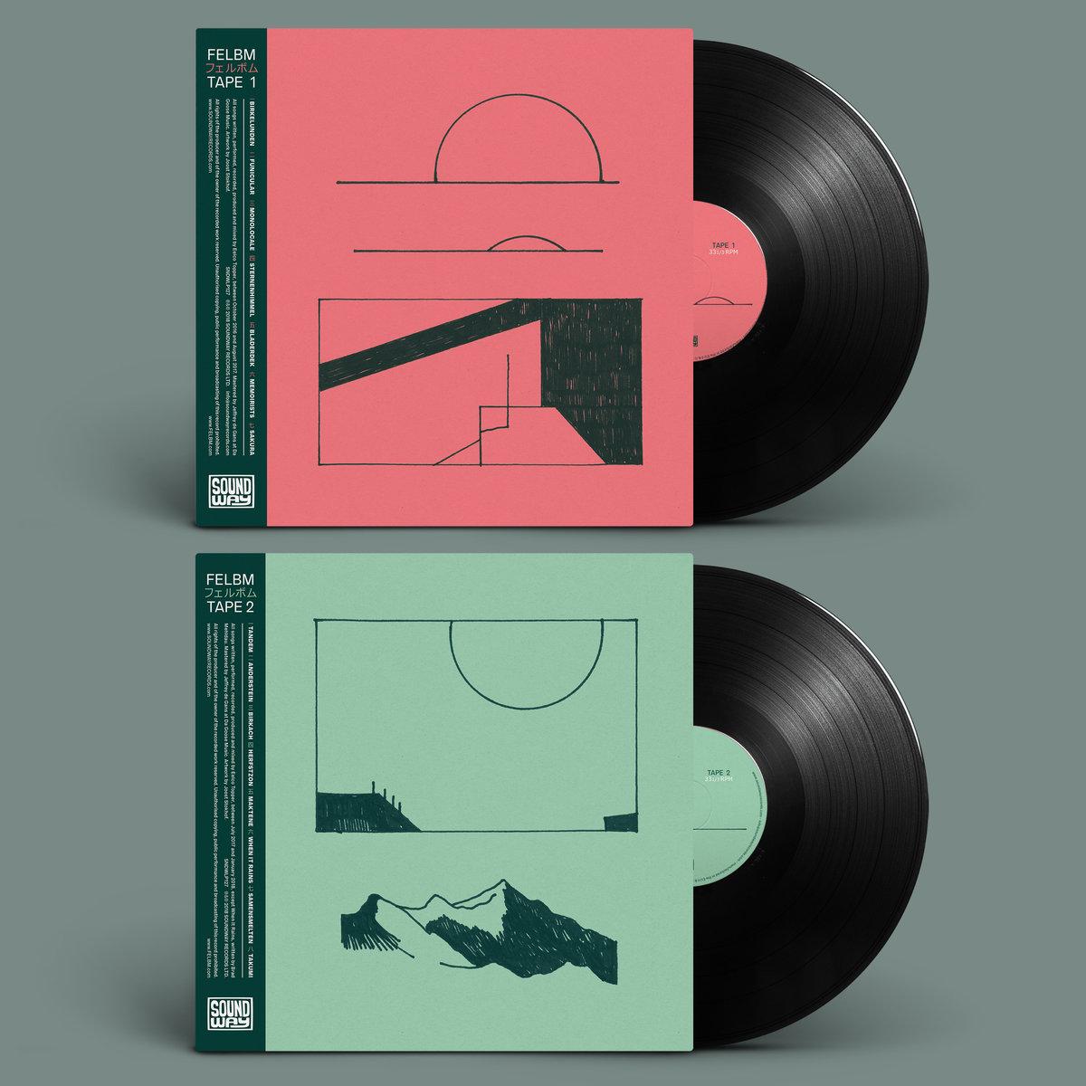 Felbm | Tape 1 Tape 2 art