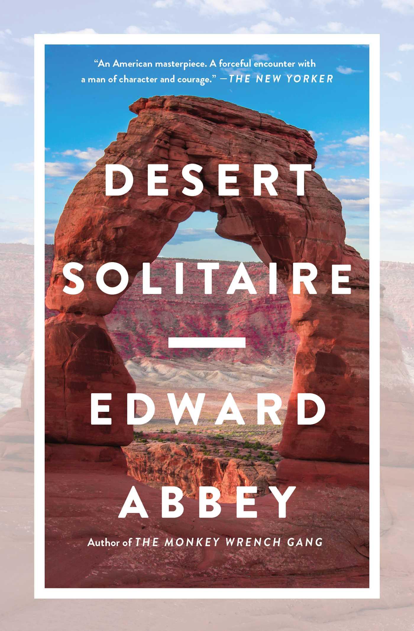 Desert Solitaire book
